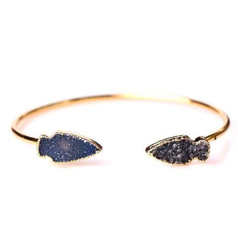 Magnolia Druzy Bracelet - mewe-accessories.com - 1