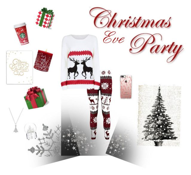 """Christmas Eve Parties"" by morgan2017 ❤ liked on Polyvore featuring Mela Loves London, Casetify, Grandin Road, Acqua di Parma and SS Print Shop"
