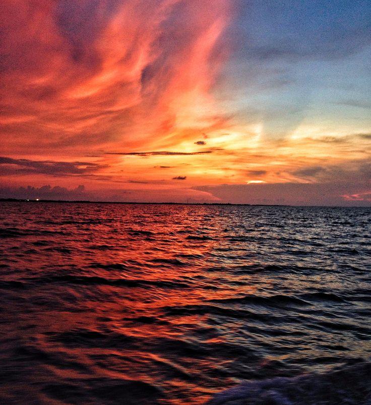 Sunset-north jakarta-nusantara