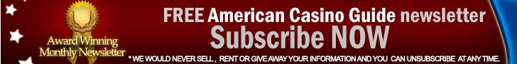 FREE American Casino Guide newsletter