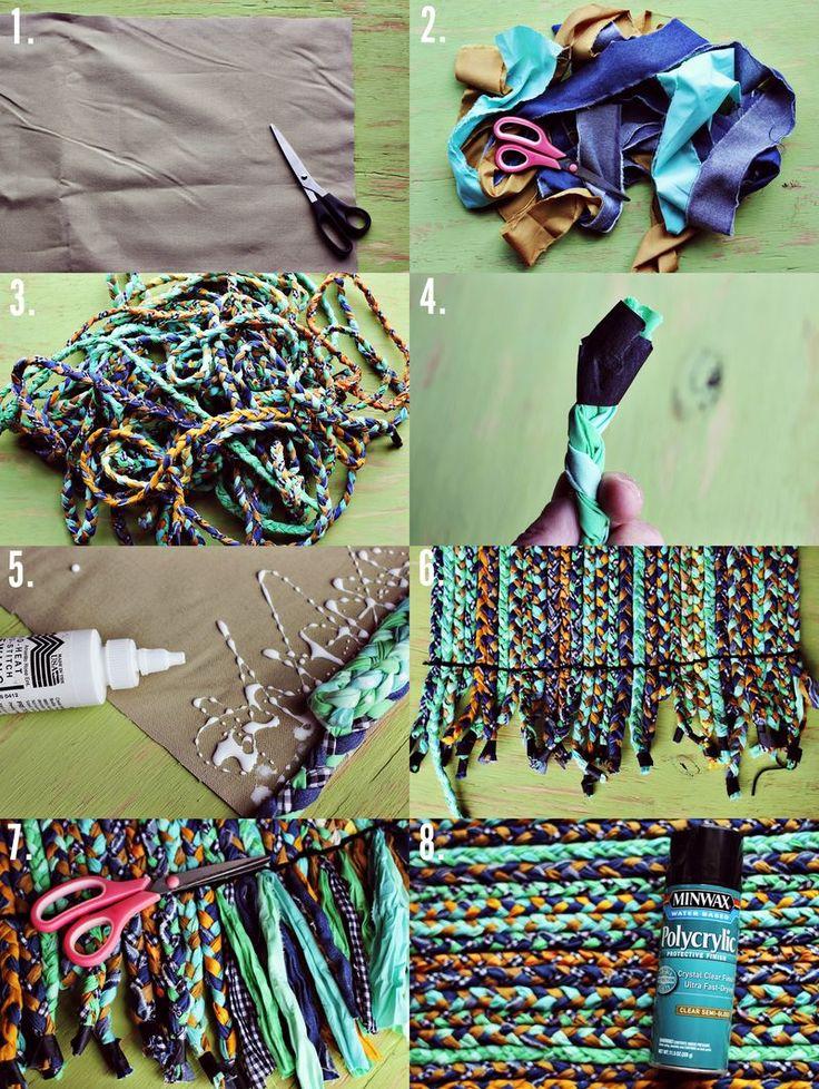 DIY: braided rug