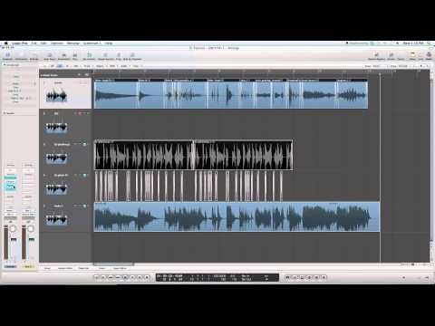 Logic Pro 9 Tutorial: How to make your own Glitch Sound Effects - YouTube