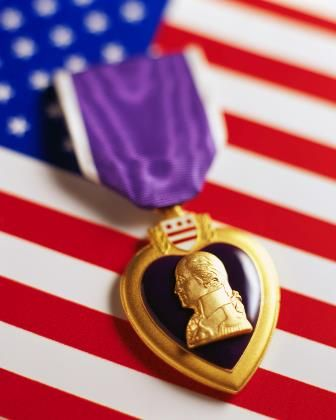 August 7: The Purple Heart medal was first created by General George Washington today in 1782 and reinstituted in 1932. Is there an ancestor or a family member who was awarded a Purple Heart medal? What's the story behind the award and their military service? #familyhistory #military