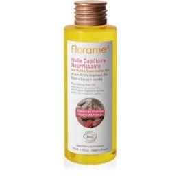 Odżywczy olejek do włosów z organicznymi olejkami eterycznymi