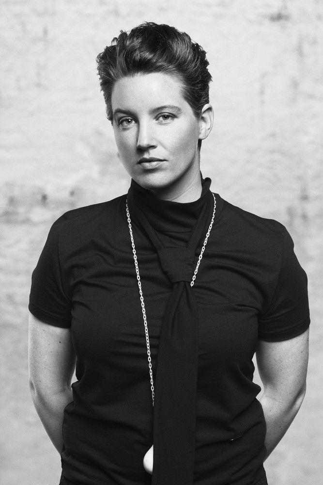 Portrait of Åsa Jungnelius, Kosta Boda designer since 2005