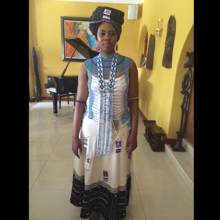 Traditional Xhosa dress ; beads