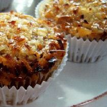 Gluten-Free Oatmeal Cupcakes with Penuche Frosting