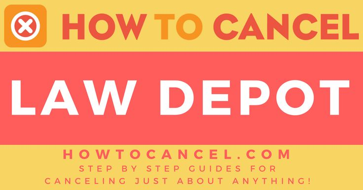 If you do not wish to use our do-it-yourself guides, we suggest this cancellation service:   Use Cancellation Form     Law Depotis an online resource providing legal documents, forms, and contracts, such as last wills, loan agreements, rental agreements and more.