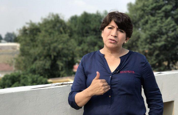 Delfina Gómez Álvarez, candidata de Morena, auditará a la administración saliente de Eruviel Ávila Villegas.