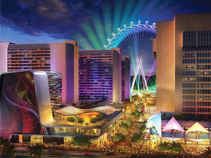 Al posto del nostro pub preferito a Las Vegas sorgerà questo complesso di negozi e divertimenti...: Rollers, Las Vegas, Travel, Lasvegas, Ferris Wheels, Living Las