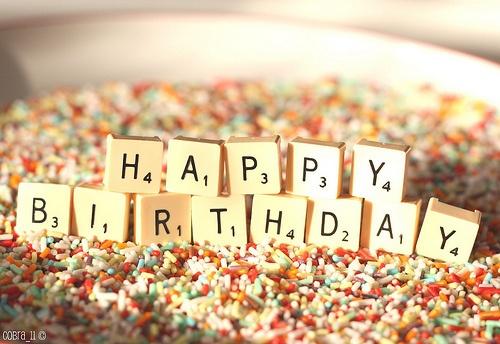 Happy Birthday idea