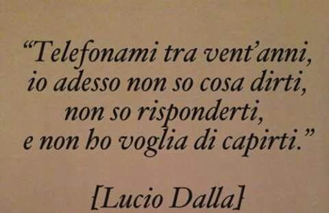 Lucio Dalla.