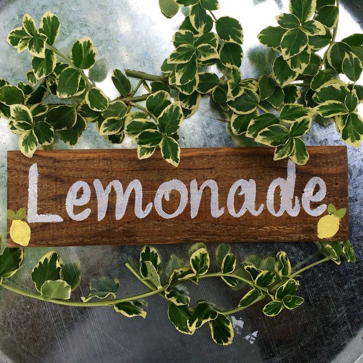 Rustic wood lemonade sign, lemonade sign, wooden lemonade sign, party decor,drink sign by McKinneyx2Designs on Etsy https://www.etsy.com/listing/385317396/rustic-wood-lemonade-sign-lemonade-sign