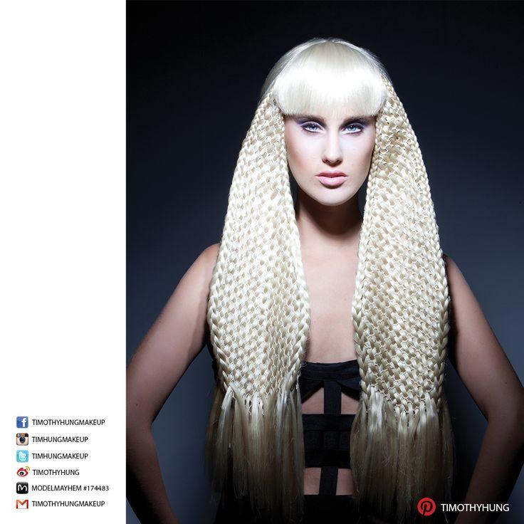 Makeup by Timothy Hung. Hair by Loretta Tom @ Salon Haze. Photography by Patryk Widejko. Model Tess @ Lizbell Agency.
