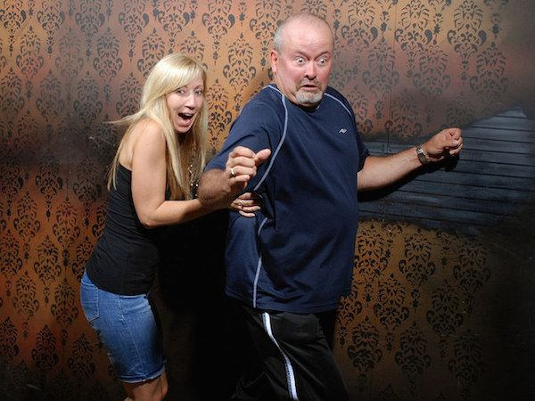 Terrified haunted house reactions are the definition of Halloween (27 Photos)