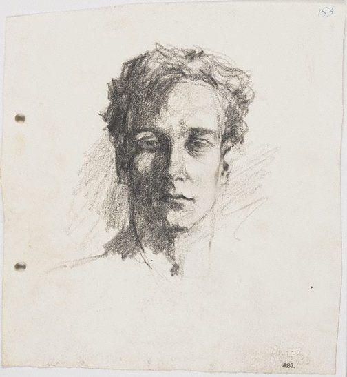 Lloyd Rees Self portrait