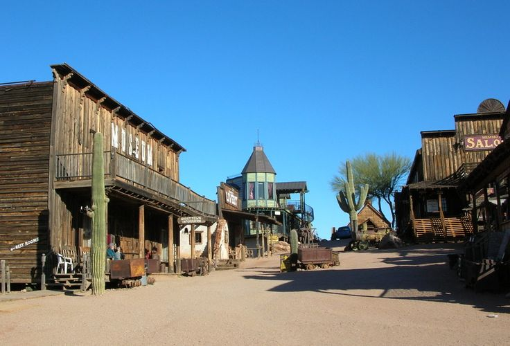 """Goldfield Ghost Town at Arizona. It looks like the information that was published was obtained from a publication entitled: """"Southern California's Best Ghost Towns"""", by Phillip Varney."""