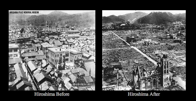 "an analysis of the atomic bomb use in the city of hiroshima See newly declassified photos of the atomic bomb dropped dubbed the ""enola gay,"" dropped the first atomic bomb ever used in on the city of hiroshima."