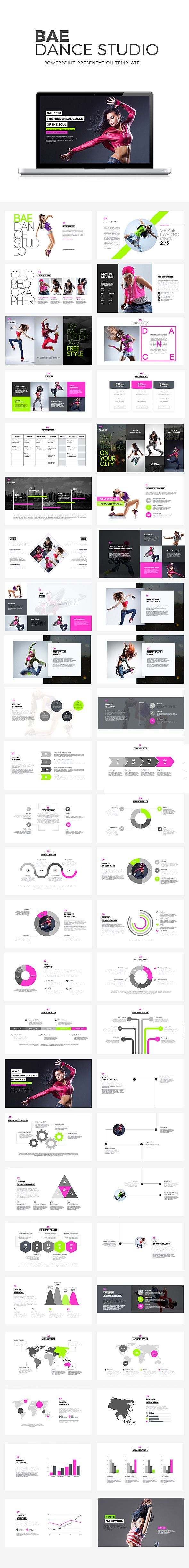 Bae Dance Powerpoint Presentation Template #design Download: http://graphicriver.net/item/bae-dance-powerpoint-presentation/11812983?ref=ksioks