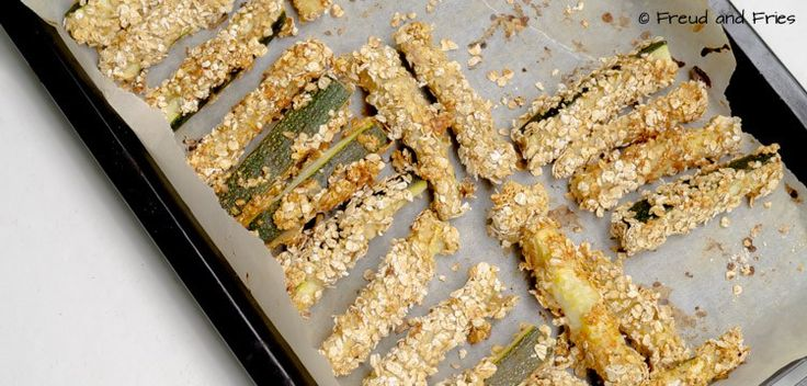 Courgette frietjes | Freud and Fries