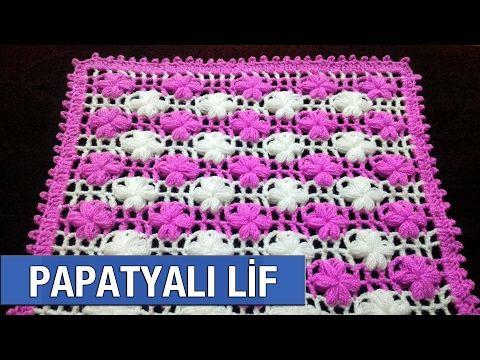 Papatyalı Lif Yapımı - YouTube