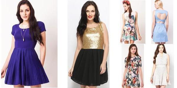 """Skater Jive!! ^.^"" Awesome list on #dresses #sleeveless by Swati Pathak #fashion"