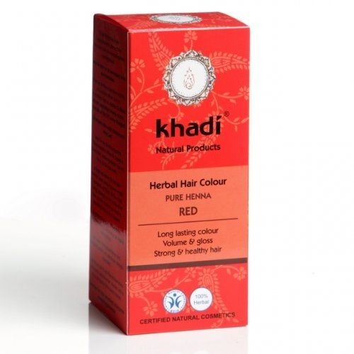 Henna pura marca Khadi este o vopsea de par 100% naturala ce confera parului volum si stralucire. Cantitate: 100g Henna pura Khadi nu contine aditivi chimici, conservanti sau coloranti artificiali.  Se poate aplica pe toate tipurile de par (blond, saten, brunet, alb). Aplicand henna pura pe parul blond se obtine un portocaliu asemanator culorii morcovului. Aplicata pe parul inchis la culoare, henna confera acestuia nuante mahon. Henna pura se foloseste ca baza in cazul in care se doreste…