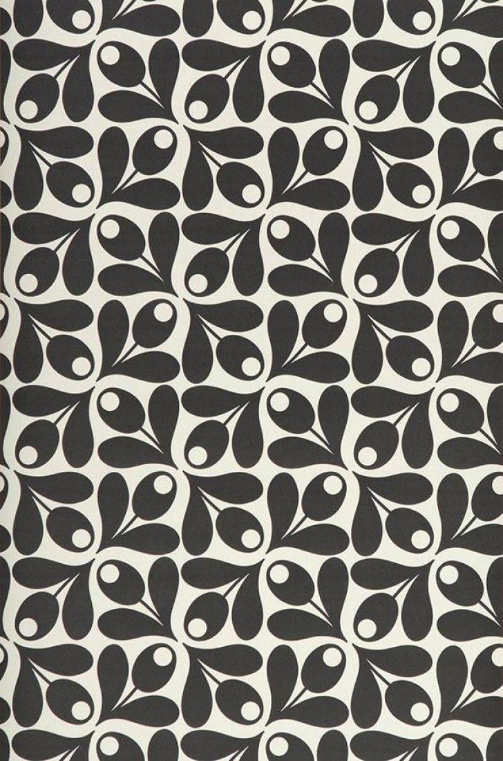 Tellus | Papier peint floral | Motifs du papier peint | Papier peint des années 70
