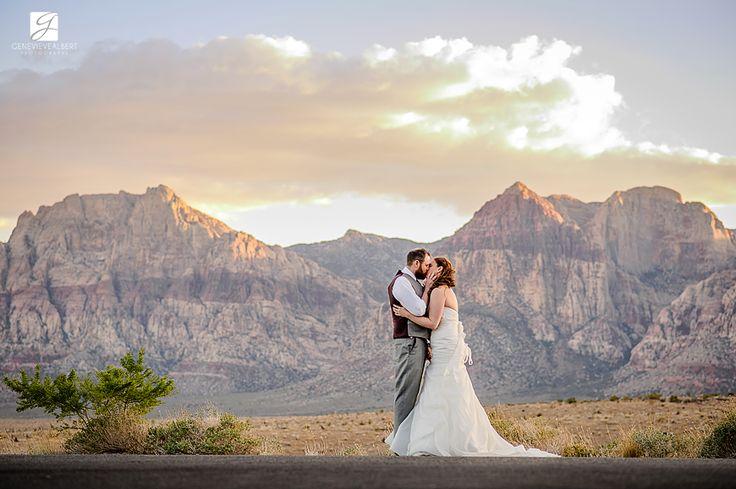 Photographe de mariage a destination, Las Vegas, MGM Grand Las Vegas, Red Rock Canyon, The Grove, wedding, photographer, genevieve albert