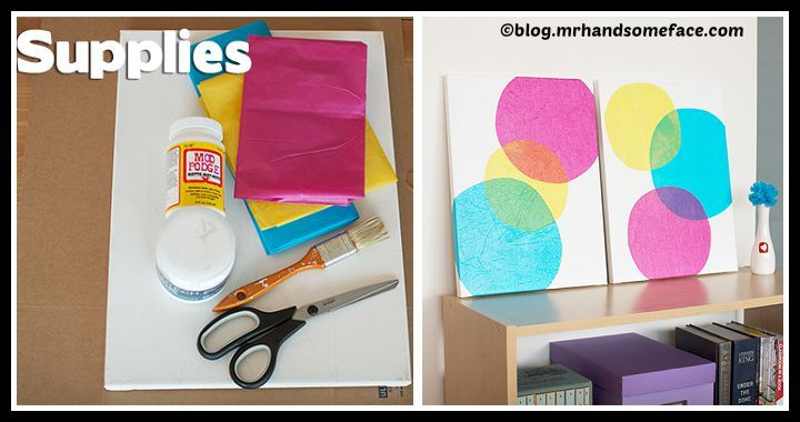 DIY Wall Art Bubbles Tutorial