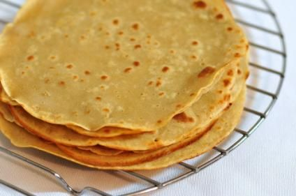Quinoa Tortillas. Completely gluten free. Finally, something I can eat. I've missed tortillas...
