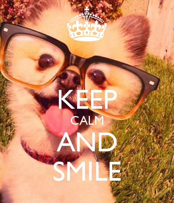 KEEP CALM AND SMILE | Creative Keep Calm Posters | Cute ...