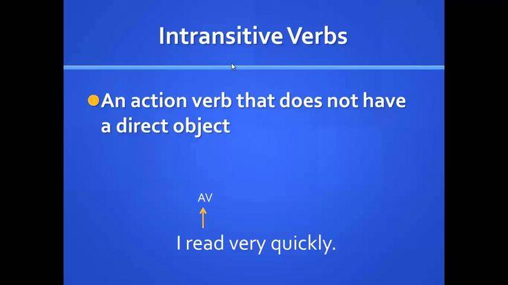 transitive and intransitive verbs essentials pinterest intransitive verb and homeschool. Black Bedroom Furniture Sets. Home Design Ideas