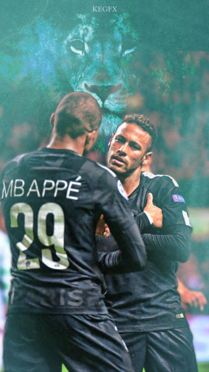 Kylian Mbappe Neymar Jr Mobile Wallpaper By Newgengfx On Deviantart