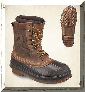 LaCrosse Ice-King Winter Pac Boots Brown: This waterproof winter pac boot lives up to its… #TrapperSupplies #TrapperBooks #TrapperVideos