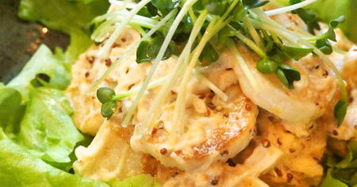 焼き長芋と帆立缶のサラダ by ミシャトモ [クックパッド] 簡単おいしいみんなのレシピが262万品