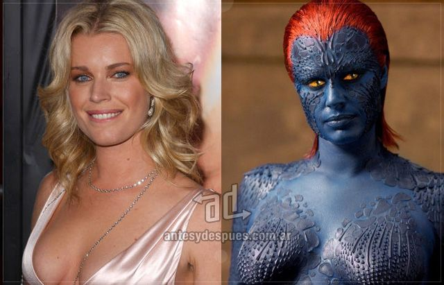 Rebeca Romijn Stamos as mystique
