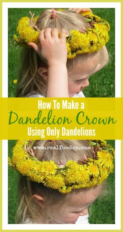 Growing up there was a park in my town that had a large patch of grass that always FILLED with dandelions every spring. A good friend of mine and I used to
