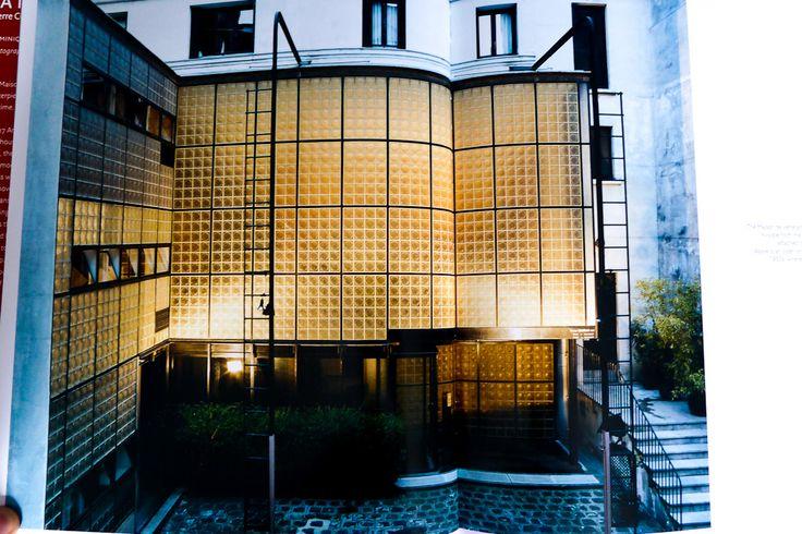 94 best images about maison de verre paris on pinterest - Maison de verre paris visite ...