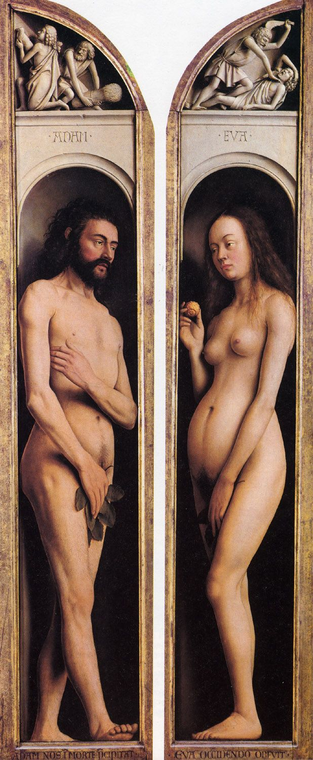 Jan Van Eyck - Adam en Eva