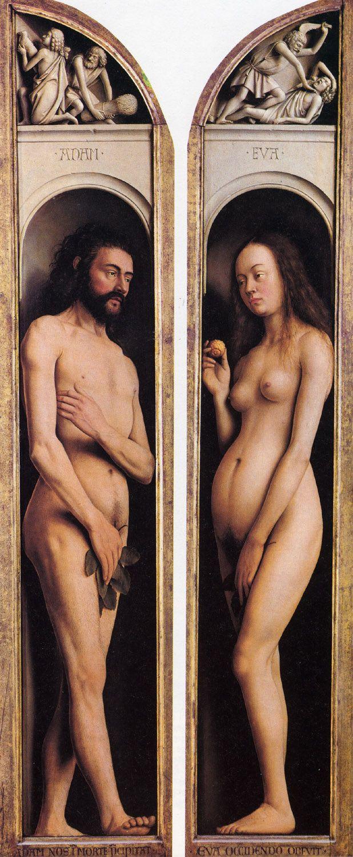 Jan Van Eyck - Adam en Eva