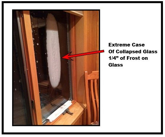 COLLAPSED GLASS IN THERMOPANE WINDOWS Thermopane or Dual pane windows consist of two panels of glass, separated by a spacer bar and sealed together. Some windows were manufactured with Argon gas in...