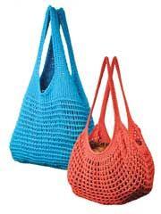 Easy Tunisian Market Bags