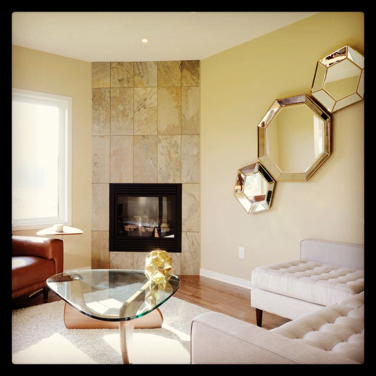 Open concept living room, in our Junction Model Home.