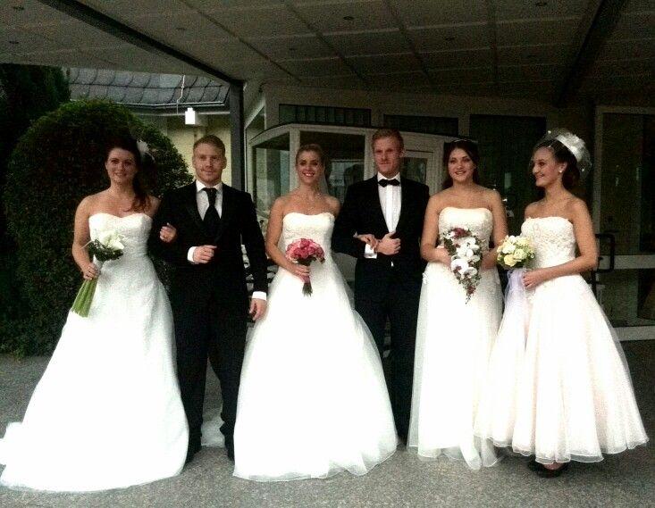 Die aktuellen Trends in Sachen Brautkleider und Bräutigamsanzüge auf der Göttinger Hochzeitsmesse 2014