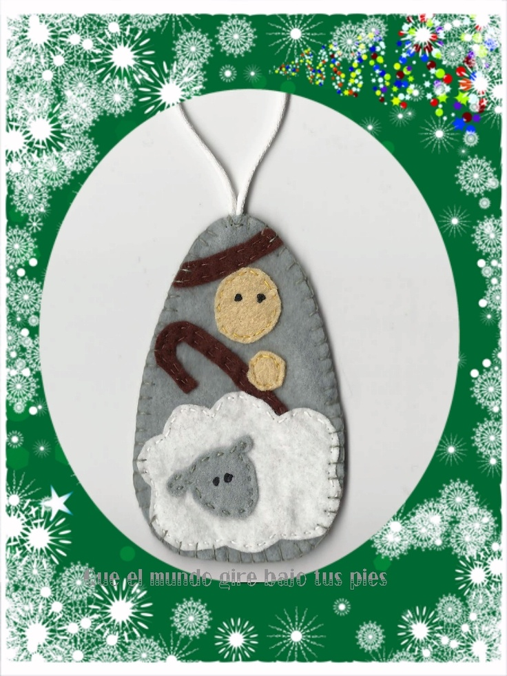 48 best images about pesebres on pinterest for Sheep christmas ornament craft