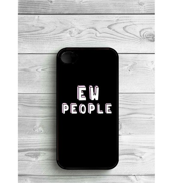 Phone Case Ew People Tumblr For iPhone 4/4S iPhone by LENKALIKE