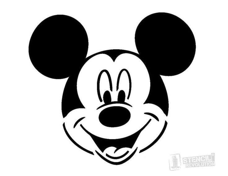 Mickey Mouse Stencil, Disney