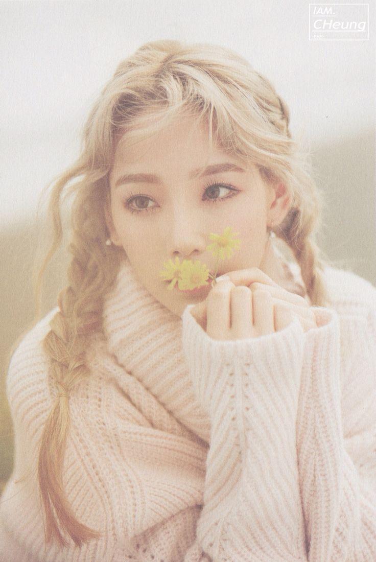 151008 SNSD Taeyeon First Solo Album  photo book