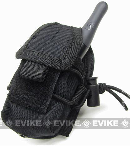 MOLLE Multi-Purpose Handheld FRS Radio MOLLE Pouch - Black